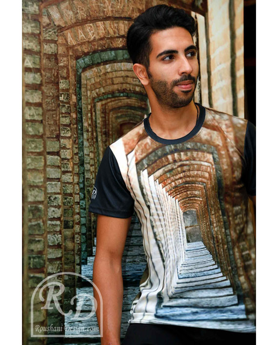 Roushani Design Isfahan tunnel loose t-shirt