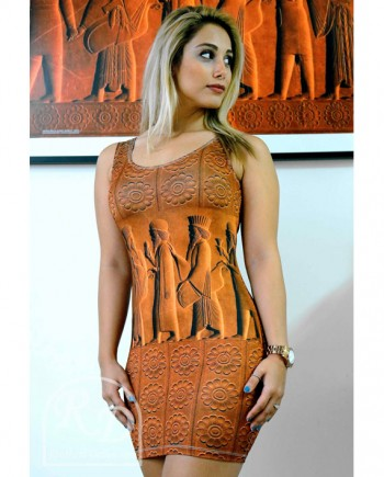Persepolis Fullmoon body fit dress