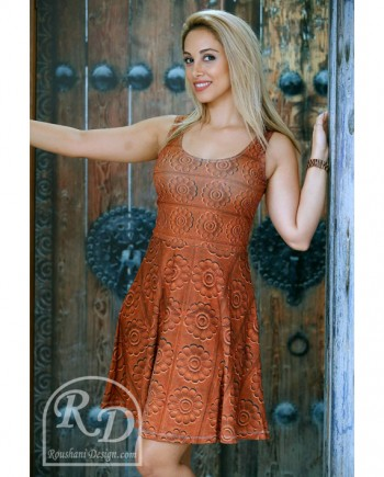 Roushani Design PERSEPOLIS FULL MOON FIT and FLOW DRESS