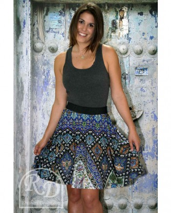 roushani design isfahan ceramic skirt
